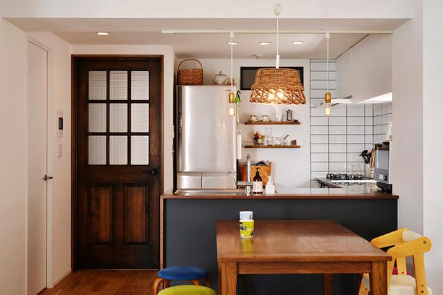インテリアのポイント「照明」| ペンダントライト キッチン